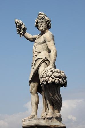 Bacchus Dionysos Gott des Weines